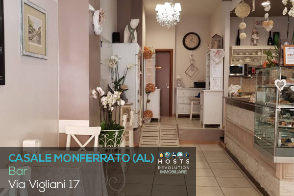 ANNUNCIO BAR Via vigliani Casale Monferrato HOSTSRevolution